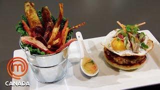 Elevated Diner Food Mystery Box Challenge   MasterChef Canada   MasterChef World