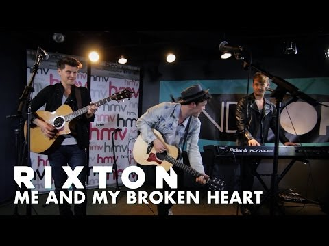 Rixton - Me and My Broken Heart (Live Acoustic Session with ANDPOP)