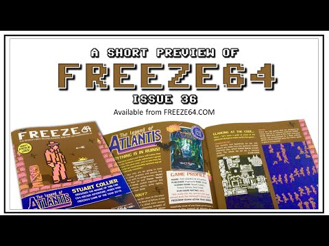 FREEZE64 fanzine issue 36 for the Commodore 64