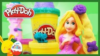 Princesse RAIPONCE - Pâte à modeler Play-doh pour les enfants - Titounis
