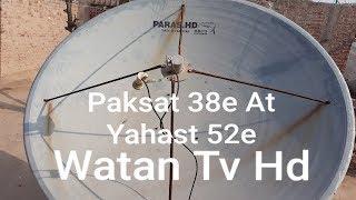 Yahsat@52E|| Express-AM22 (@53E)|| Full Dish Setting And Channel