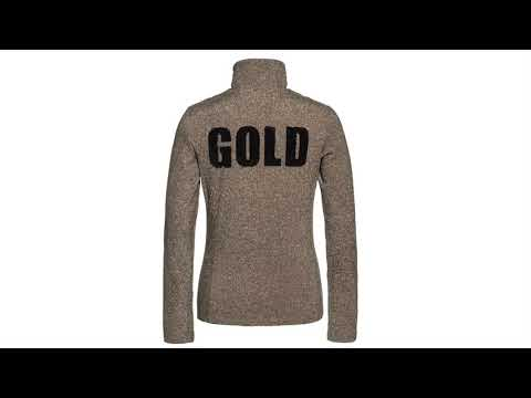 Goldbergh Sparkle Baselayer in Gold