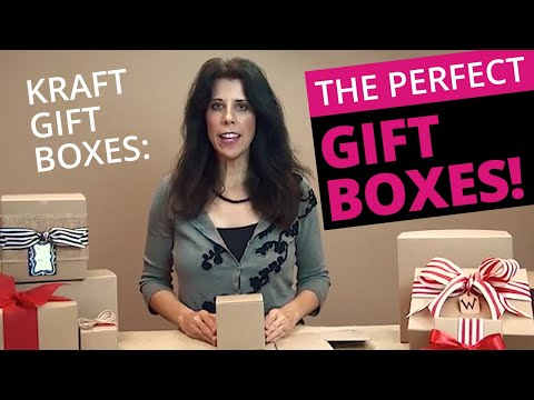 Kraft Gift Boxes - THE Perfect Gift Box!