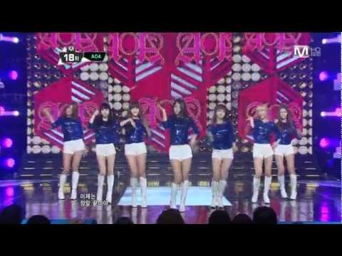 【1080P】121018 AOA- GET OUT @Comeback Stage