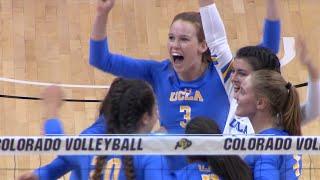 Recap: No. 13 UCLA women's volleyball completes comeback win over Colorado