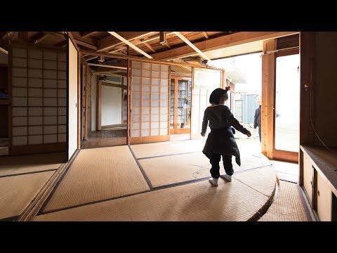 Atsuko Mochida creates revolving floor and walls in abandoned house