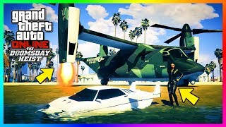 GTA Online The Doomsday Heist DLC Act 2 Missions - MASSIVE Payout, NEW Vehicles & MORE! (GTA 5 DLC)