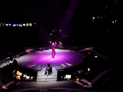 BIG FOUR LIVE 2010 張衛健演繹情歌版「足球小將」
