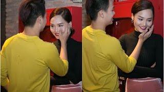 Miu Lê bất ngờ khóc trước giờ họp báo(tin tuc sao viet)