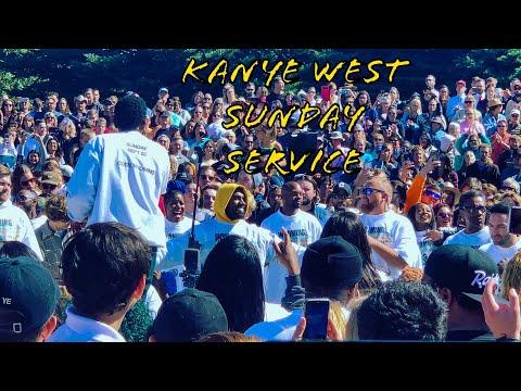 (Kanye West)//Sunday Service//9/22/Cody WY//