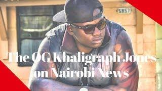 Khaligraph Jones talks about his debut at the Coke Africa studios