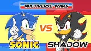 Sonic the Hedgehog vs Shadow the Hedgehog Animation - MULTIVERSE WARS