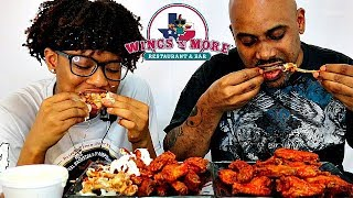 HOT WING CHALLENGE! FATHER vs DAUGHTER