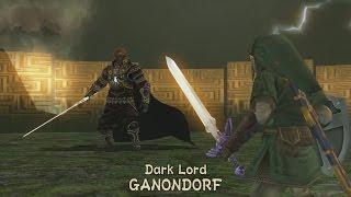 Dark Lord GANONDORF Boss Fight - The Legend of Zelda: Twilight Princess HD