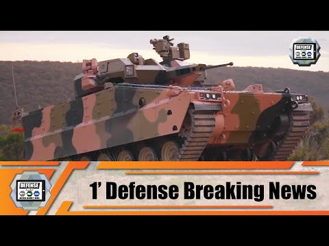 Hanwha South Korea launches AS-21 Redback tracked armored IFV Infantry Fighting Vehicle in Australia