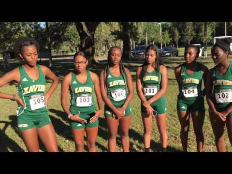 XULA Women's Cross Country Champs 2016