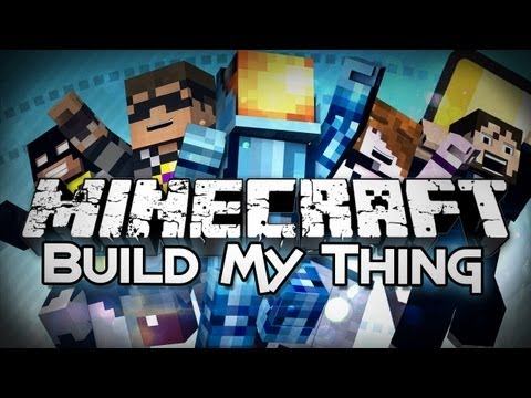 Minecraft: Build My Thing - Draw My Thing In Minecraft! (Mini-game) - Smashpipe Games