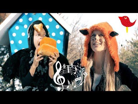 Pesnička Havran a Líška - pesničky Líšky a vlka