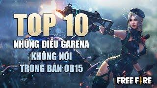 Free Fire | TOP 10 thứ GARENA không nói với bạn về Phiên Bản OB15 | Rikaki Gaming