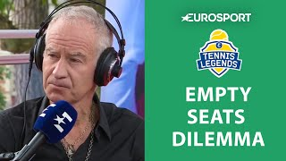 Why Are There Empty Seats At Roland Garros? | Tennis Legends Podcast | French Open 2019 | Eurosport