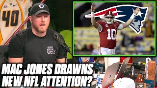 Pat McAfee Reacts To The Possibility Of The Pats Wanting Mac Jones