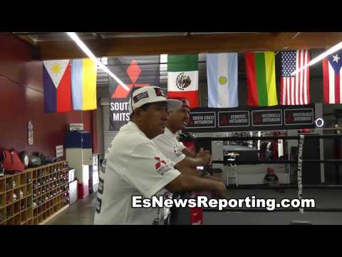 maidana vs mayweather 2 chino strength workout fitness EsNews - ESNEWS  - dV1ZvqhE0xg -