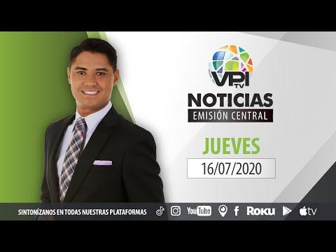 EN VIVO - Noticias VPItv Emisión Central - Jueves 16 de Julio