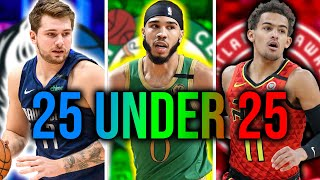 Top 25 NBA Players Under 25 Years Old