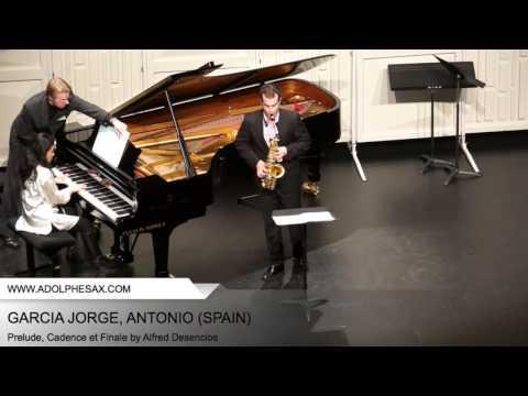 Dinant 2014 - Garcia Jorge Antonio - Prelude, Cadence et Finale by Alfred Desenclos