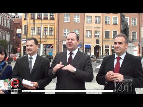 Konferencja PSL w Grudziądzu - kandydaci