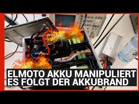 ELMOTO Akkubrand - Was man nicht machen sollte - eBikeundSo