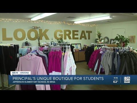 Principal's unique boutique for students