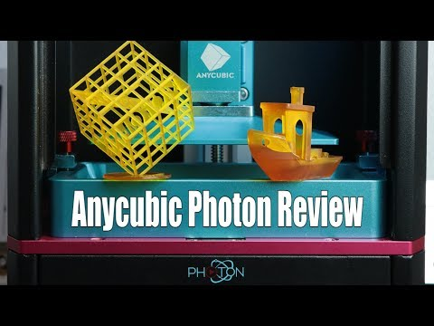 Anycubic Photon Review - $539 DLP 3D Printer || Moai Comparison