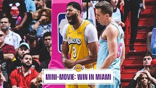 Mini-Movie: Lakers Hand Heat First Home Loss