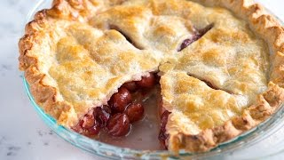 Easy Cherry Pie Recipe - How to Make Homemade Cherry Pie