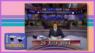 1994-07-29 - WVNY - ABC - ABC World News Tonight with Peter Jennings - Partial