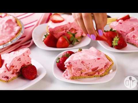 How to Make Fluffy Strawberry Pie | Dessert Recipes | Allrecipes.com