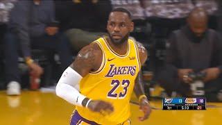 Los Angeles Lakers vs OKC Thunder - 1st Qtr Highlights   November 19, 2019-20 NBA Season