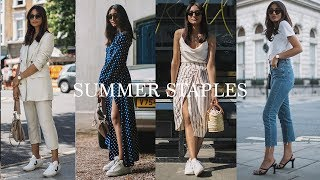 TOP SUMMER WARDROBE STAPLES | LOOKBOOK