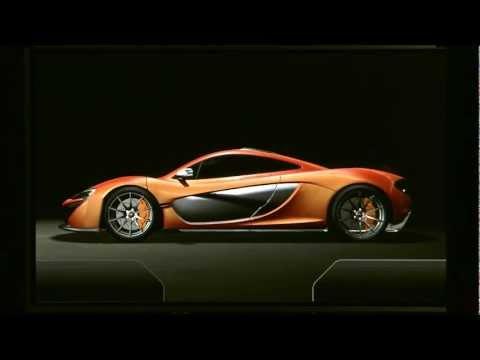 McLaren P1 - zapowiedź modelu