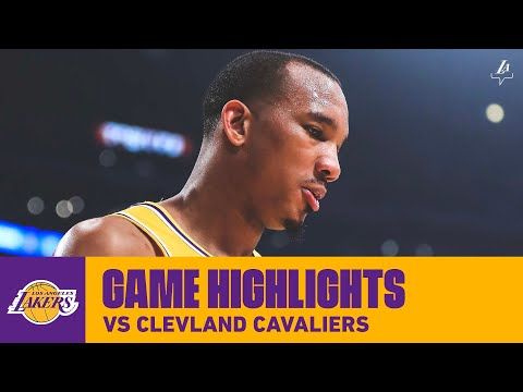 HIGHLIGHTS | Los Angeles Lakers vs. Cleveland Cavaliers