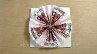 Geldgeschenke Originell Verpacken Sonne Basteln Geld Falten