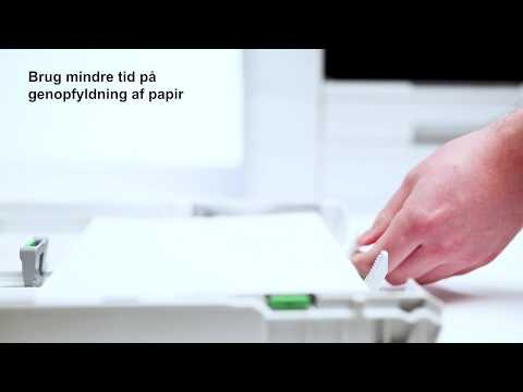Professionel inkjetprinterserie - print med færre forstyrrelser