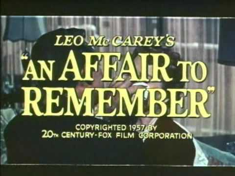 An Affair to Remember'
