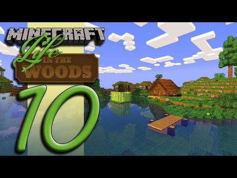 Minecraft Life In The Woods - EP10 - Training Cabin Complete! thumbnail