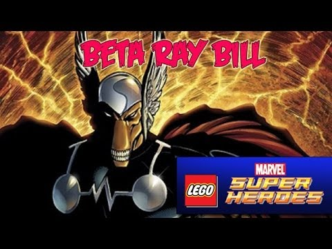 Lets Play: Beta Ray Bill - Lego Marvel Super Heroes - DLC - Smashpipe Games