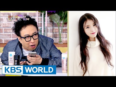 Park Myung-soo randomly calls IU and tells her to come! [Happy Together / 2017.06.01]