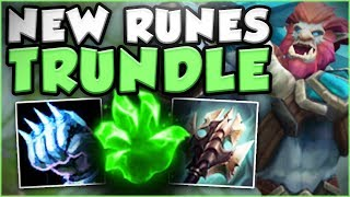COME ON RIOT! TRUNDLE HEALING IS SO STUPID NOW WITH NEW RUNES! TRUNDLE SEASON 8! - League of Legends