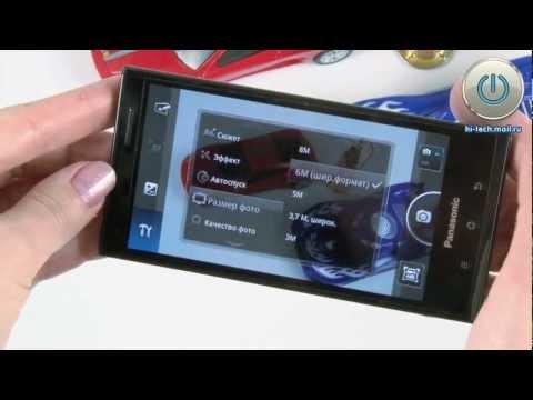 Обзор Panasonic Eluga: стильный водонепроницаемый смартфон