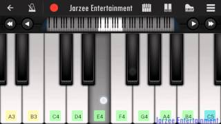 Soch Na Sake (Arijit Singh) - Mobile perfect piano tutorial with notes